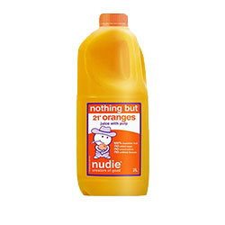 Orange juice - Nudie - 2 litre thumbnail