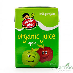 Whole Kids organic apple juice - 200ml thumbnail