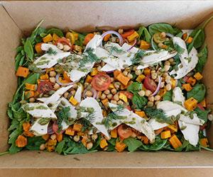 Roast chicken salad thumbnail