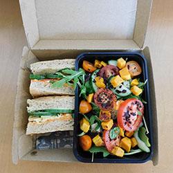 Individual salad and Panini box thumbnail