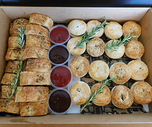 Gourmet pie and sausage roll box thumbnail