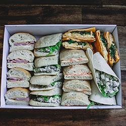Mixed rolls, wraps and sandwiches thumbnail
