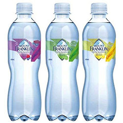 Flavoured lightly sparkling water - 450 ml thumbnail