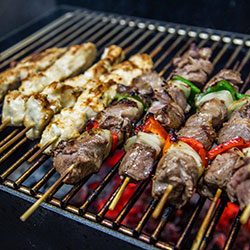 Chargrilled skewers - mini thumbnail