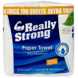 Strong paper towel - 2 ply - Livi - 2 pack - 100 sheets thumbnail