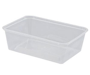 Rectangular microwavable container - Castaway - 750ml thumbnail