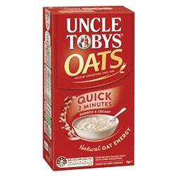 Uncle Tobys Quick Oats - 1kg thumbnail