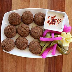 Homemade falafel platter thumbnail