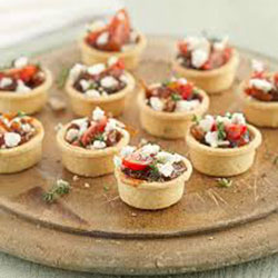 Caramelised onion tartlets with feta and thyme thumbnail
