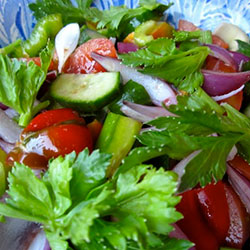 Garden Salad with French Dressing thumbnail