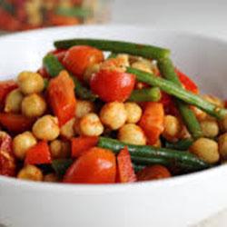 Green bean and chickpea salad thumbnail