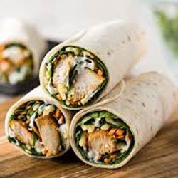Tandoori chicken wraps - mini thumbnail