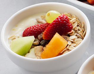 Yoghurt and fresh fruit pots - mini thumbnail