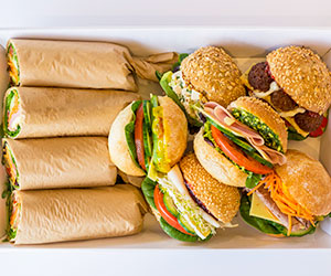 Wrap and roll platter - serves 4 thumbnail