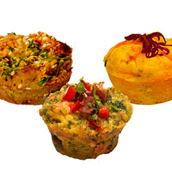 Cocktail savoury muffins mixed - Kooka brothas thumbnail