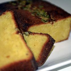 Gluten free orange almond loaf slice thumbnail