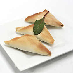 Spinach and fetta triangle thumbnail