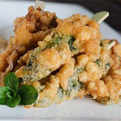Zucchini and fetta fritter thumbnail