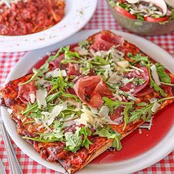 Pizza al prosciutto thumbnail