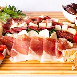 Antipasto meat platter thumbnail