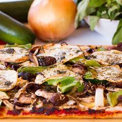 Vegetarian pizza thumbnail