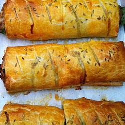 Breakfast pastry roll thumbnail