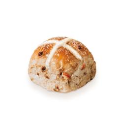 Apple and cinnamon hot cross buns thumbnail