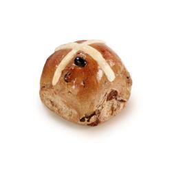 Sourdough hot cross bun thumbnail