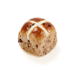 Traditional hot cross bun thumbnail