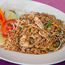 Chicken pad Thai thumbnail