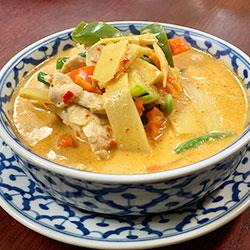 Chicken panang curry thumbnail