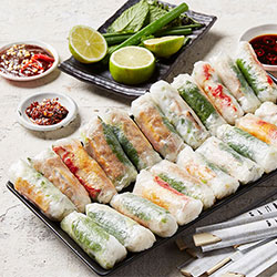 Rice paper rolls package thumbnail