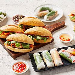 Banh mi and rice paper rolls package thumbnail