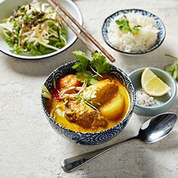 Chicken curry and rice thumbnail