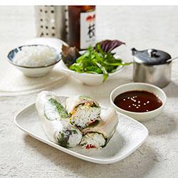 Lemongrass beef rice paper roll thumbnail