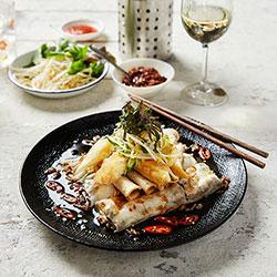 Saigon steamed rice rolled pancake thumbnail