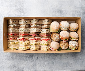 Sandwiches and rolls box thumbnail