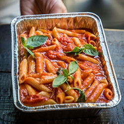 Organic tomato sauce pasta thumbnail