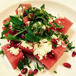 Watermelon and feta salad thumbnail