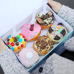 Mixed doughnut box thumbnail
