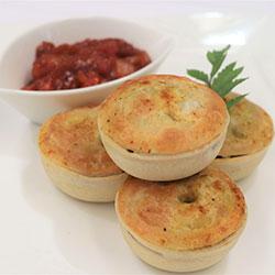 Gourmet vegan pies - mini thumbnail