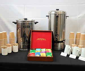 Full service coffee and tea station thumbnail