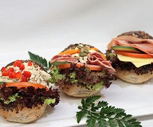 Gluten free baps (small roll) thumbnail
