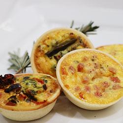 Gourmet quiche - mini thumbnail