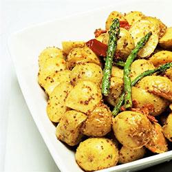 Roast chat potato platter thumbnail