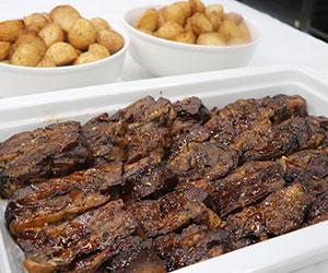 Slow roasted Greek lamb thumbnail