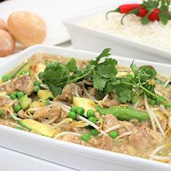 Thai chicken green curry thumbnail