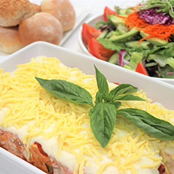 Roast vegetables lasagne thumbnail