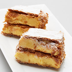 French vanilla slice - mini thumbnail