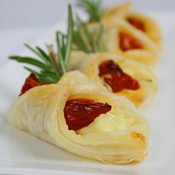 Semi dry tomato tartlets thumbnail